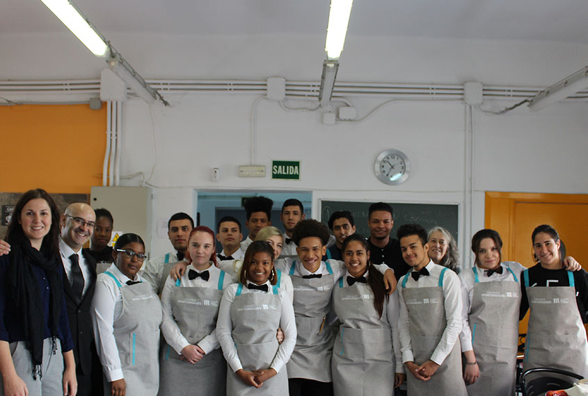 Nueva promoción del Certificado Profesionalidad Camarero, de Fundación Mahou