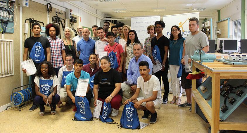 Entrega de diplomas de Fundación Endesa en Norte Joven