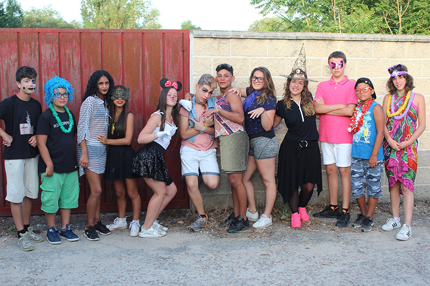 Campamento en Salamanca de los menores del Programa I+I