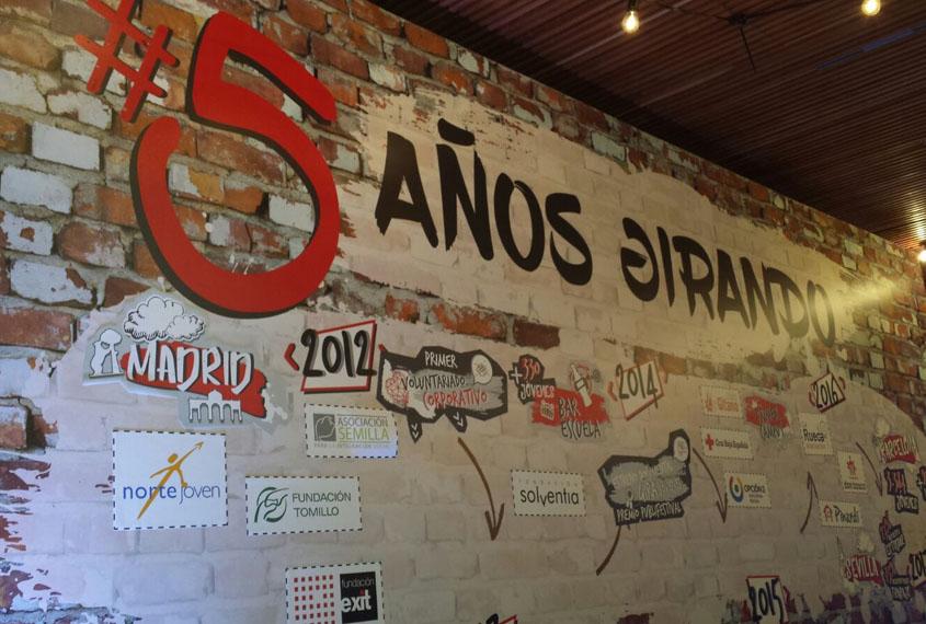 Quinto aniversario de GIRA CocaCola