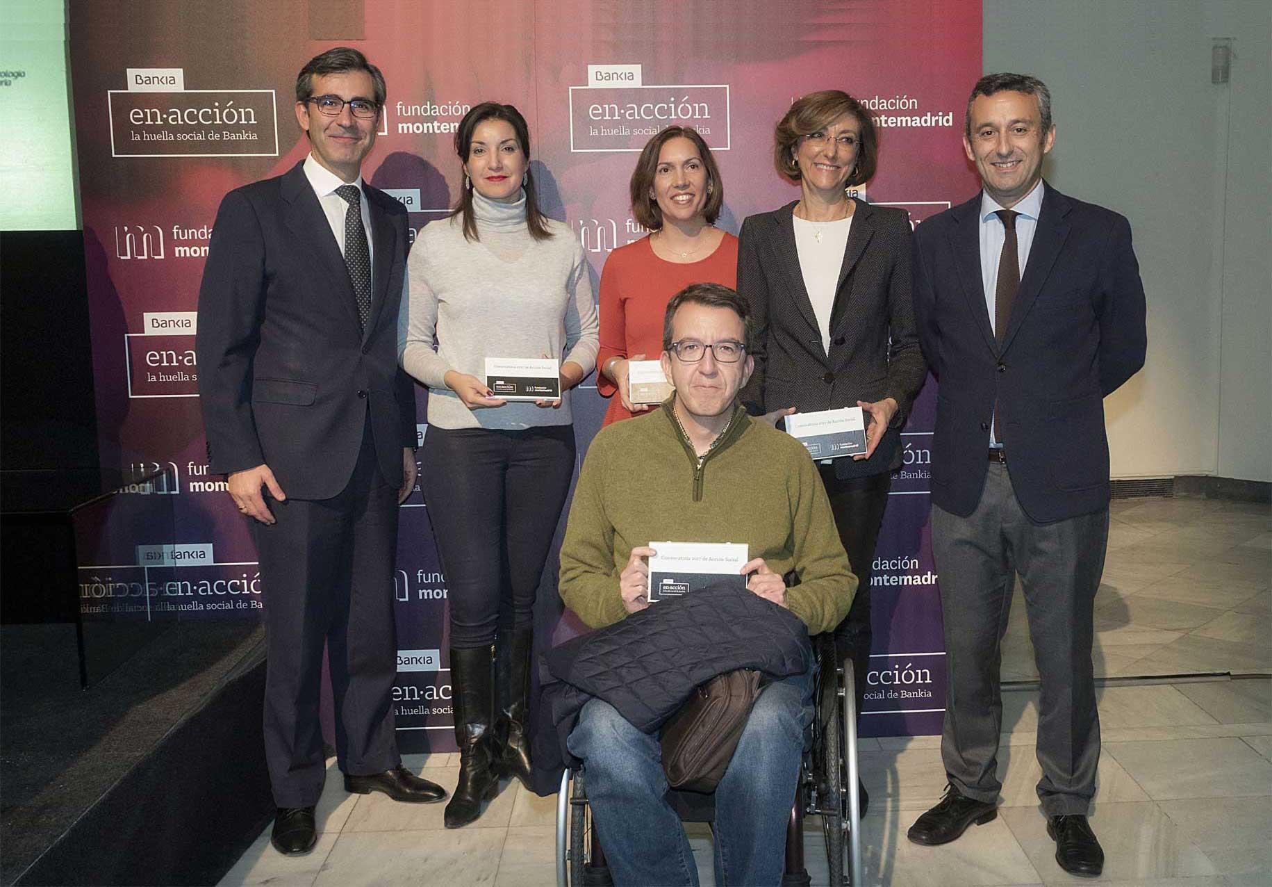 Entrega ayuda #ConvocatoriaONG Bankia y Fundación Montemadrid a Norte Joven