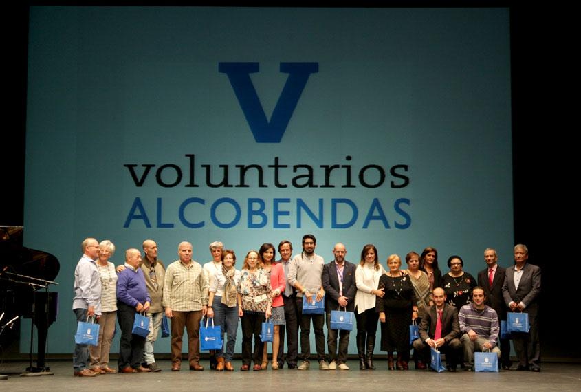 Homenaje en Alcobendas a Catalina, voluntaria de Norte Joven