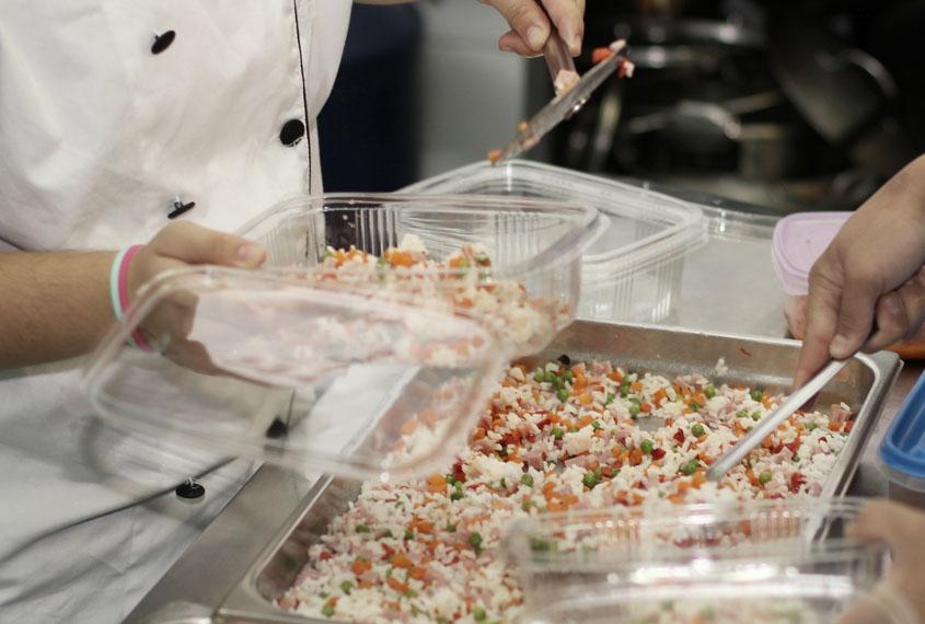 Entregadas más de 2.500 comidas por el Catering social Norte Joven