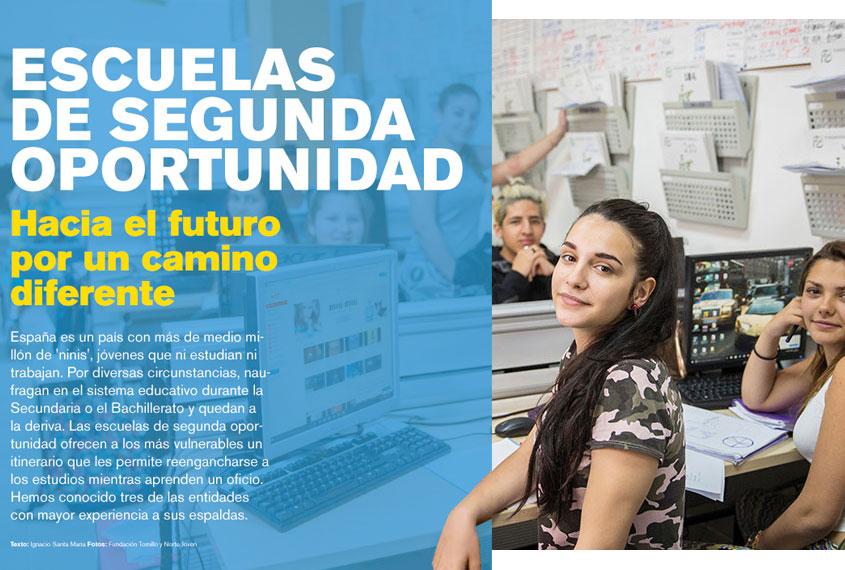 Reportaje en la revista Perfiles sobre Escuelas de Segunda Oportunidad