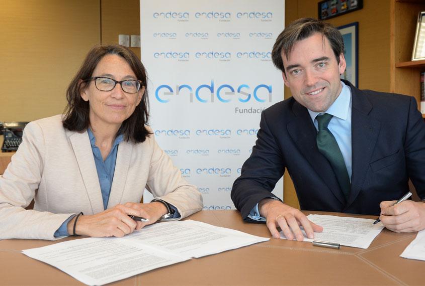 Fundación Endesa renueva su compromiso con Norte Joven
