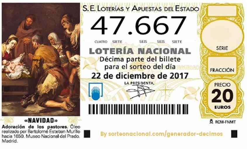 Participa en la Lotería Navidad Norte Joven