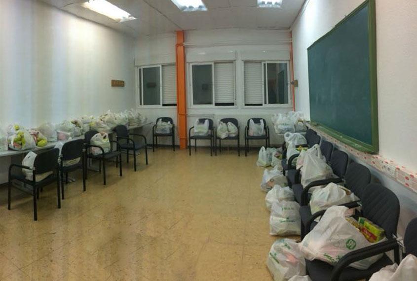 Operación Kilo para familias de 56 jóvenes