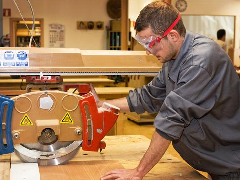 Taller capacitación carpintería