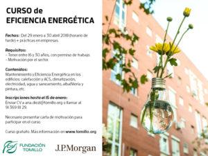 Inscríbete en curso Eficiencia Energética
