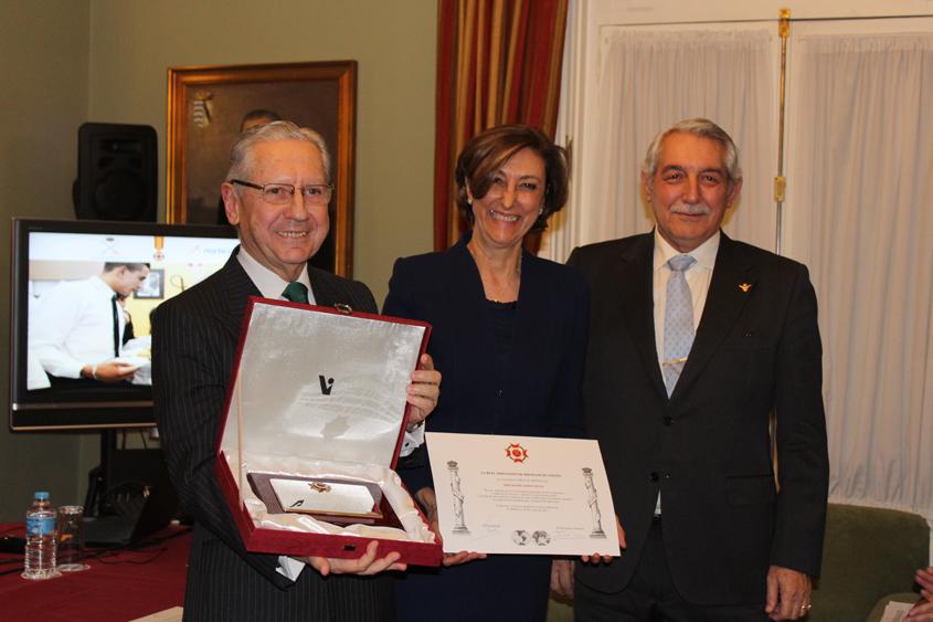 Norte Joven condecorada con Cruz al Mérito de Hidalgos de España