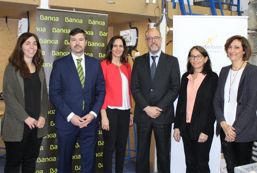 Seguimos rumbo al empleo con el apoyo de Bankia en electricidad Alcobendas
