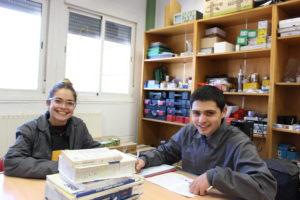 Jessica y Felipe, dos participantes en Aula Endesa