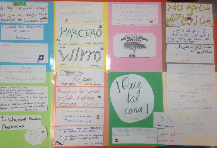 Celebramos el día internacional de la Lengua materna