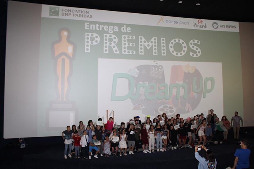 Estreno de los 8 cortometrajes de los menores participantes en Dream Up, el programa educativo de la Fundación BNP Paribas