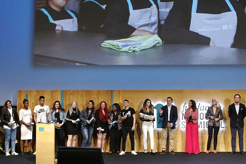 Entrega de diplomas #CreamosOportunidades con Fundación Mahou-San Miguel
