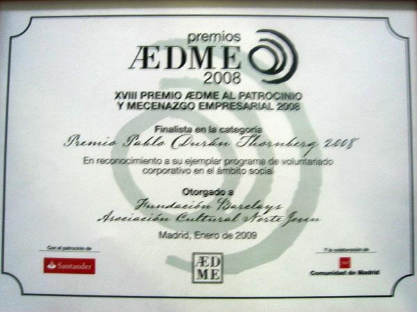 Premio AEDME