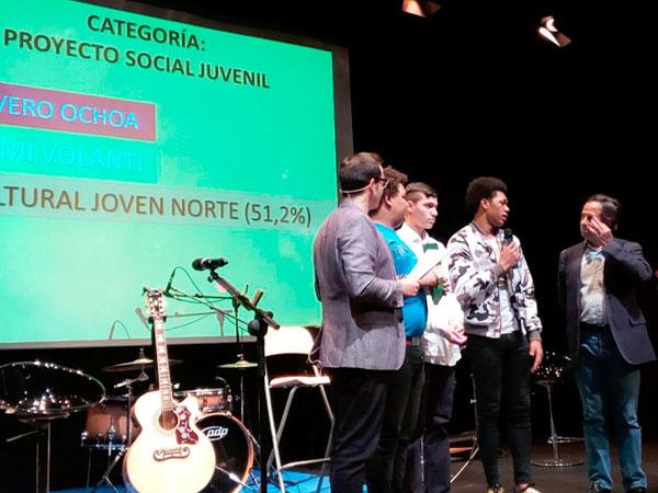 Premio Jóvenes Alcobendas en la categoría de Proyecto Social Juvenil