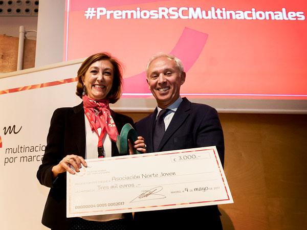 Premios Multinacionales por marca España RSC 2017
