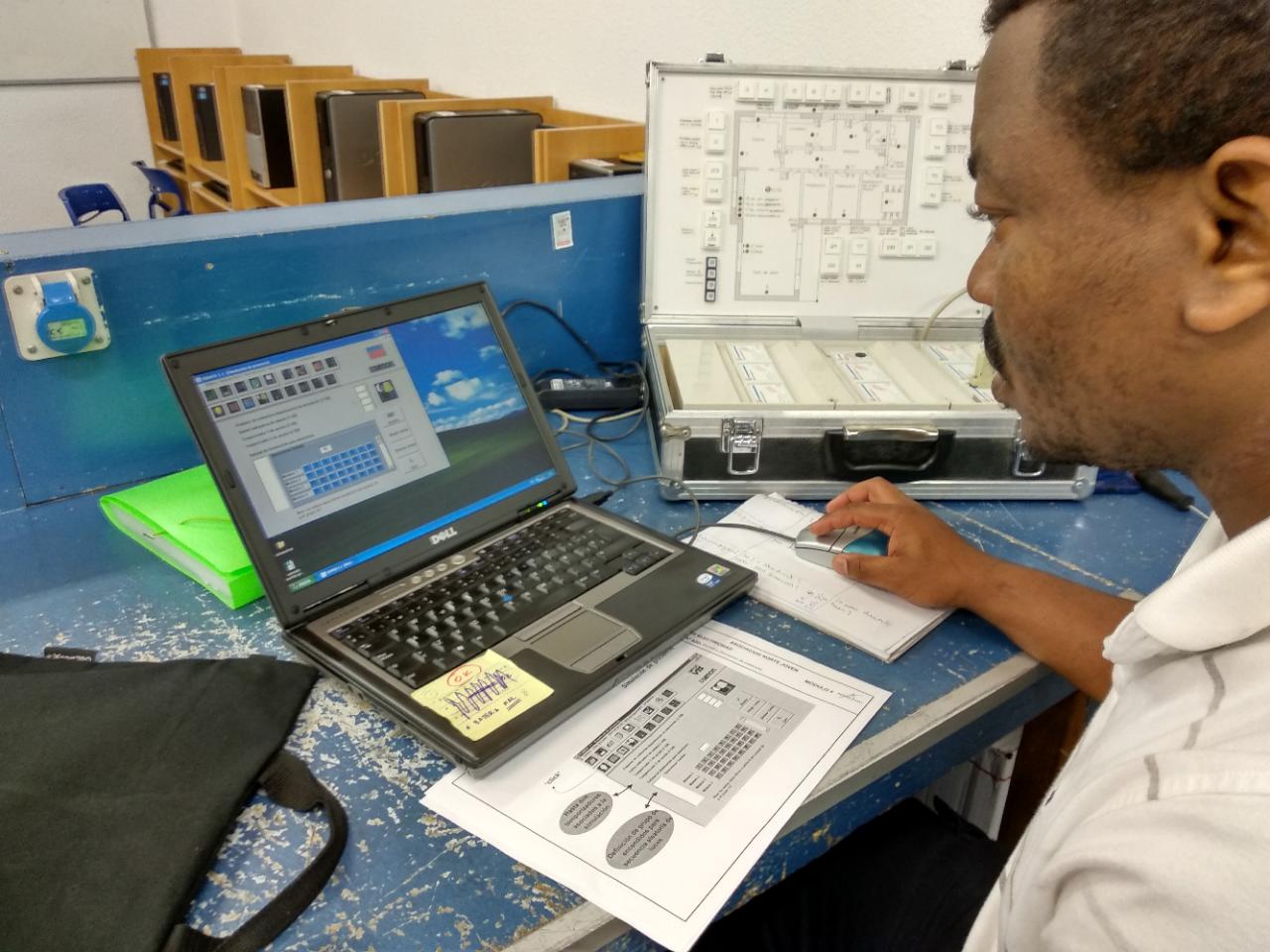 Las TIC llegan a la formación en taller