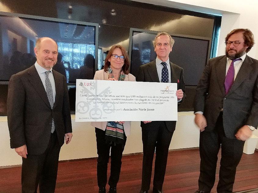 UBS Community Affairs apoya el proyecto de Norte Joven