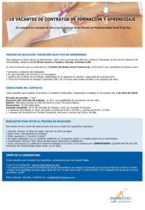 contratos formación y aprendizaje