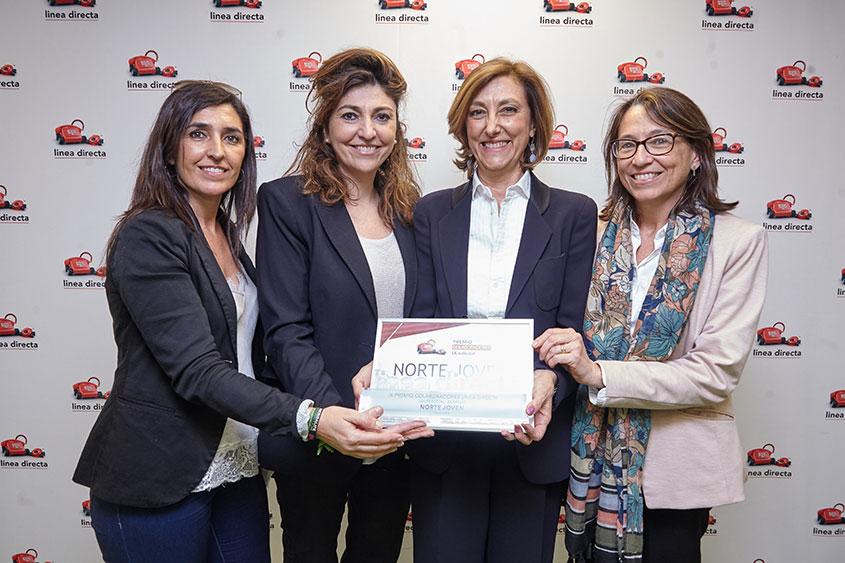 Línea Directa entrega a Norte Joven el Premio Colaboradores 2019