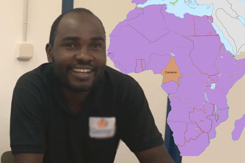 "#CambiandoHistorias | Joseph, antiguo alumno, rumbo a Camerún con ""Corazón de África"""