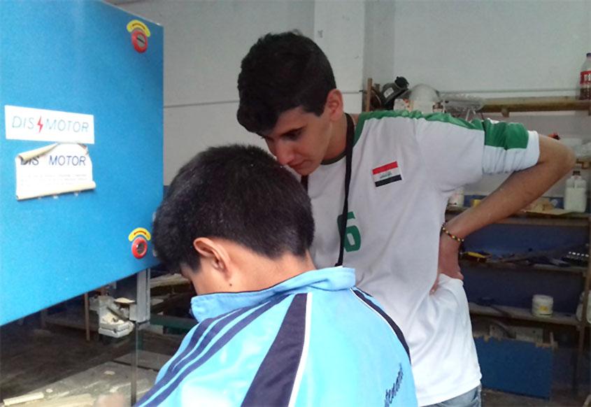 Está pasando: voluntariado social en Perú de un alumno de Norte Joven
