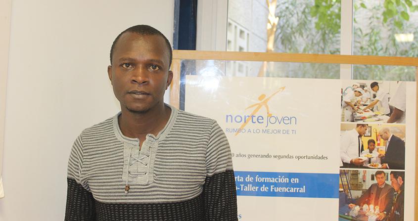 #CambiandoHistorias | Abdoul, antiguo alumno de electricidad