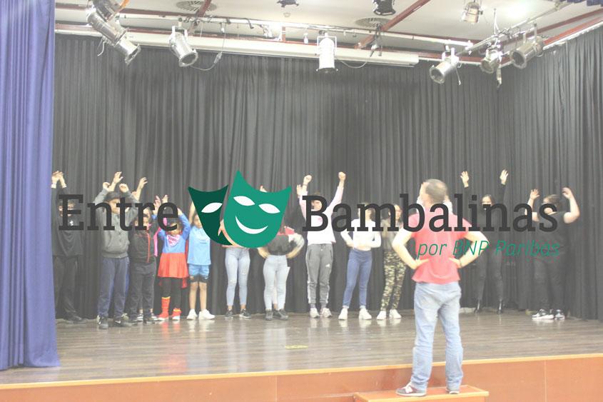Arranca la 2ª edición de Entre Bambalinas, los talleres de teatro para los pequeños de Norte Joven