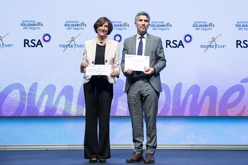 Norte Joven galardonada en los Premios Solidarios del Seguro INESE 2019