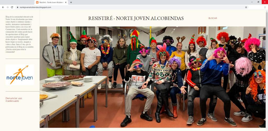 Resistiré, blog de Norte Joven Alcobendas