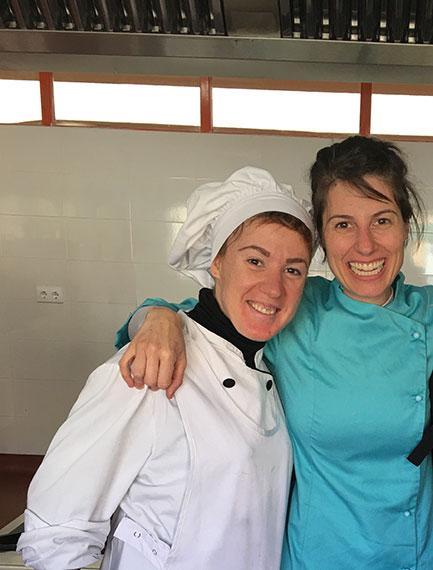 Antigua alumna de cocina en Centro Norte Joven Alcobendas