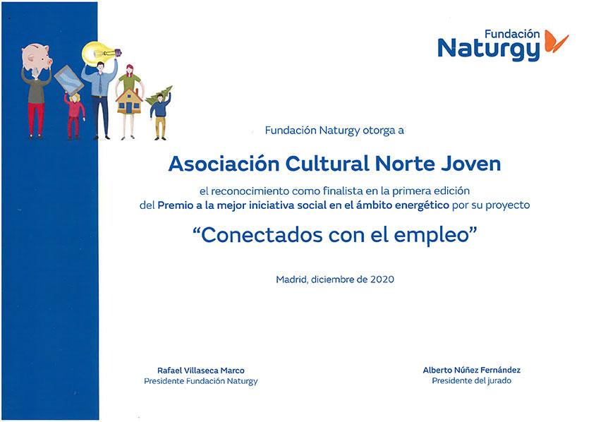 Finalistas en I Premios Naturgy