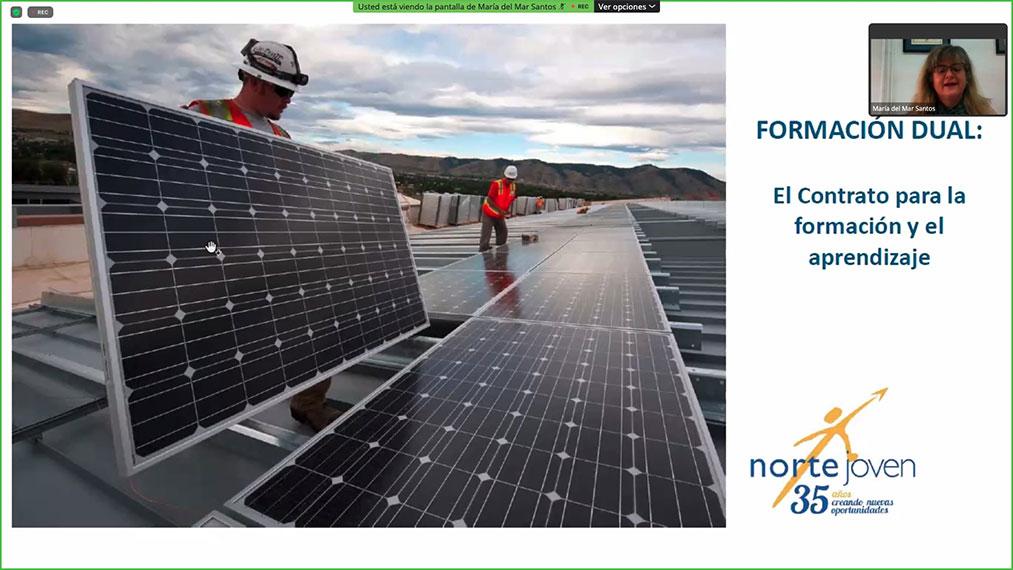"""Participamos en el webinar """"Retos y soluciones para atraer talento joven al sector fotovoltaico"""""""