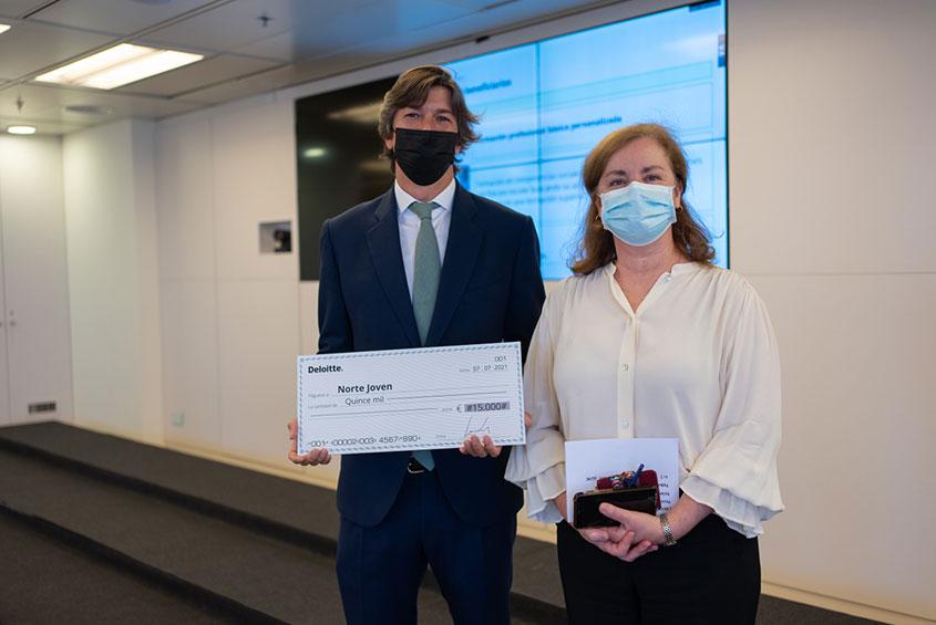 """Premiados en """"Conoce mi proyecto"""", la iniciativa social de Deloitte"""